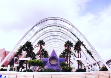 Valencia-Spain-City of Art and Sciences